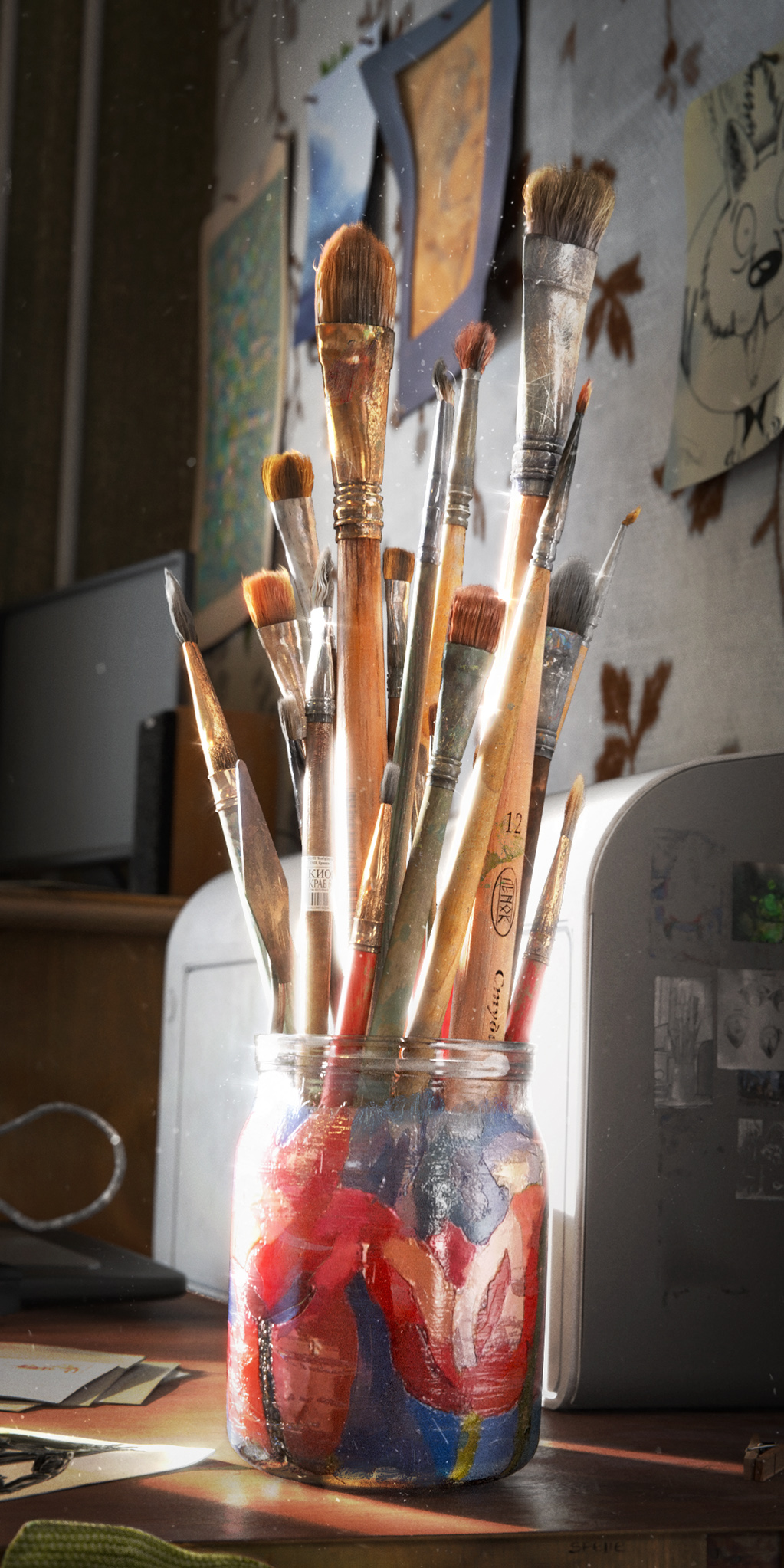 The Making Of Where Do Little Spiders: Making-of The Brushes • Creative Shrimp