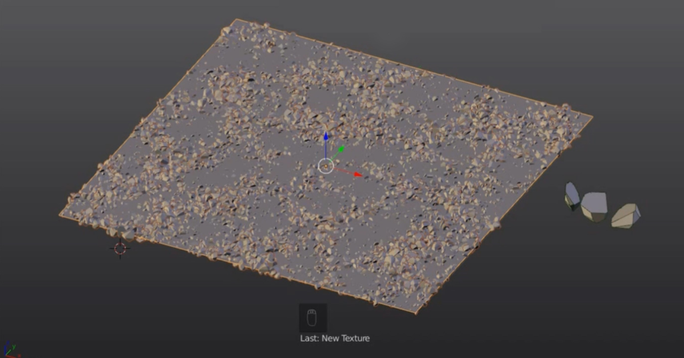 particle textures density