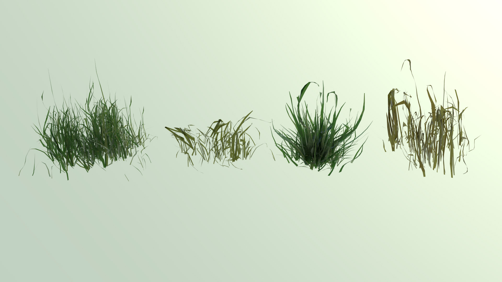 how to create a grass in blender