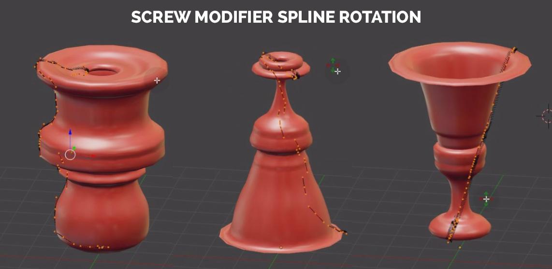 blender screw modifier