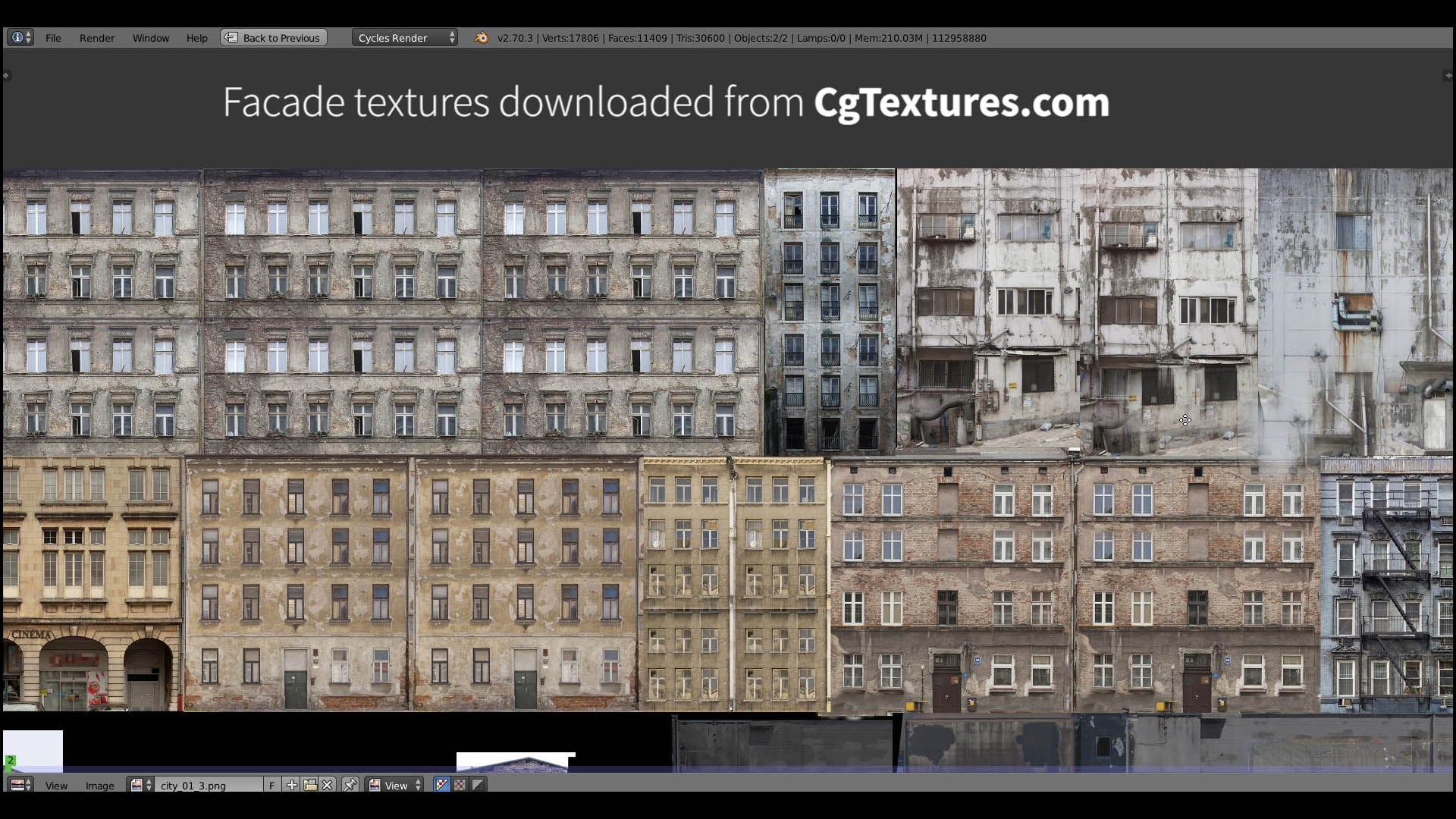 Building A House Texture Atlas Building Facades