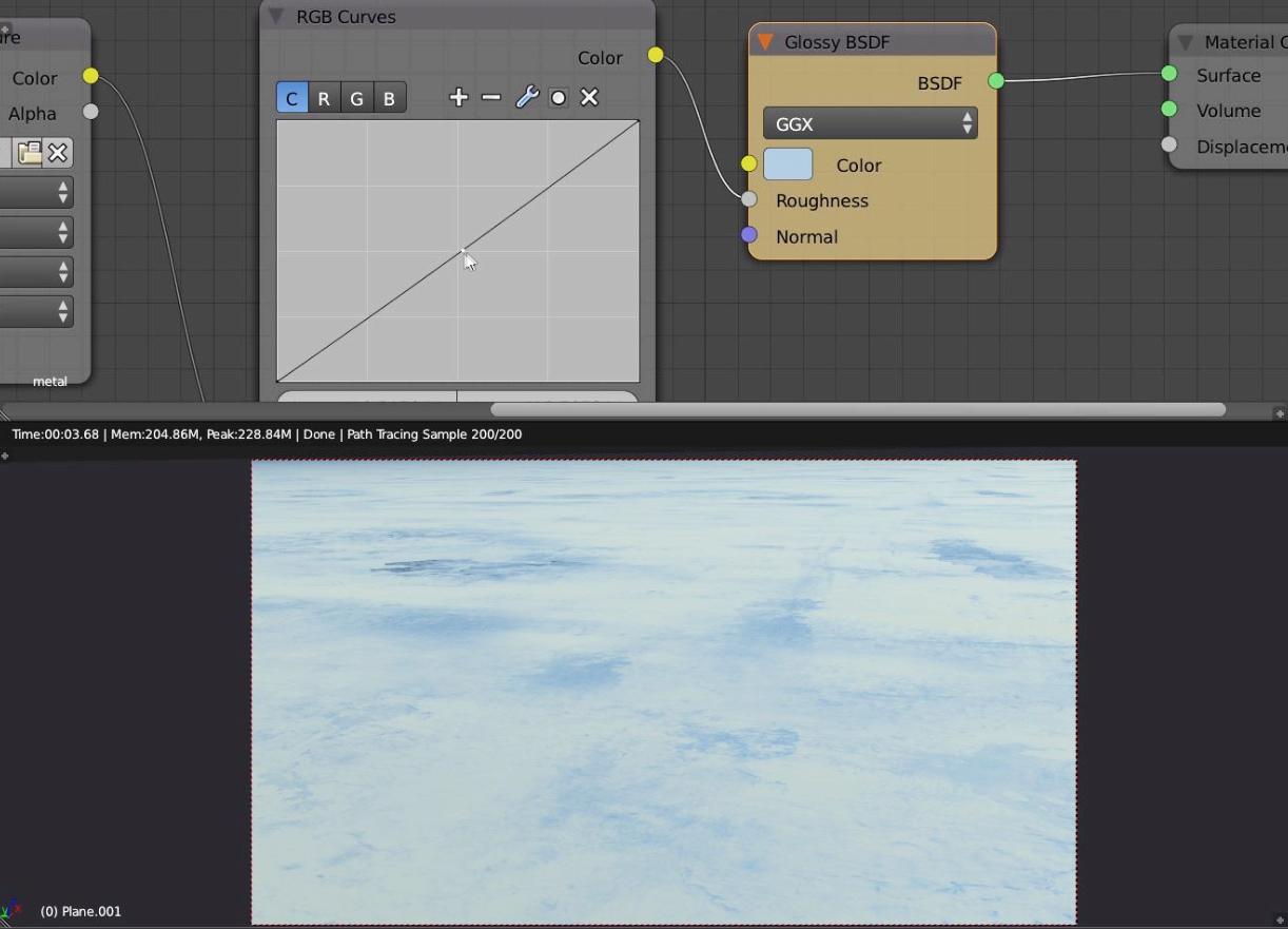 shader nodes Blender