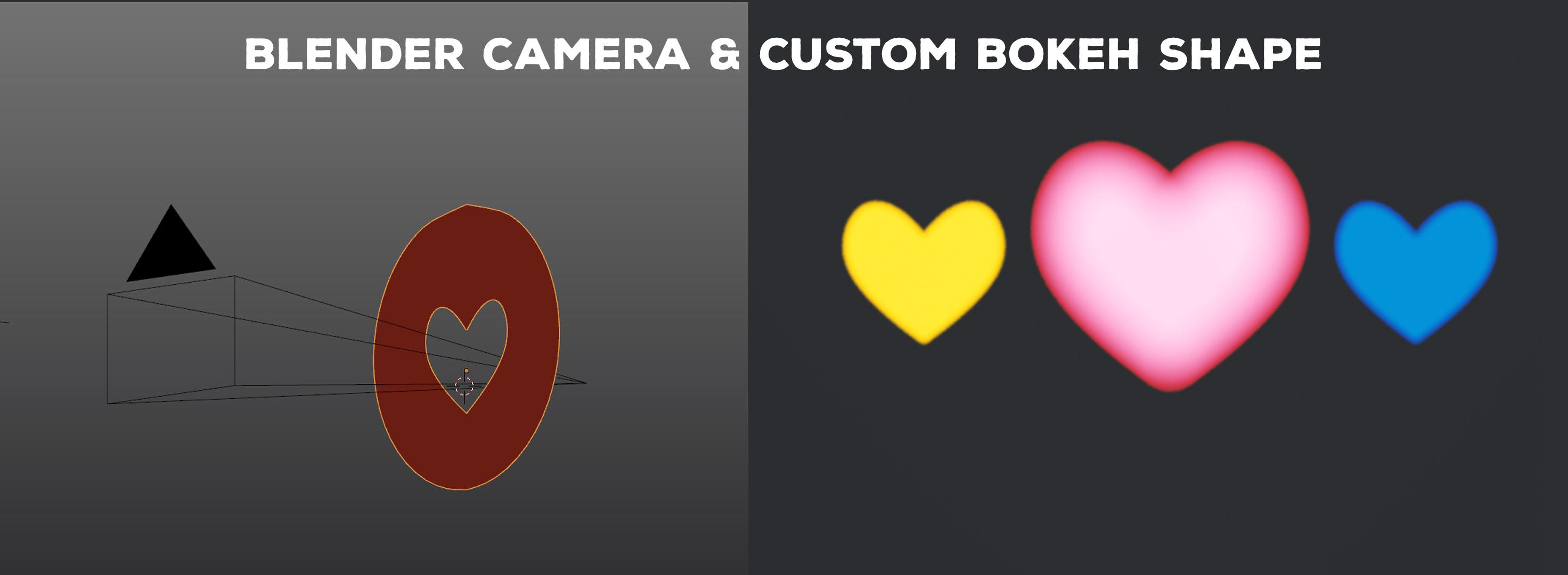 Reynante Martinez tip: Make custom bokeh shape by using stencil