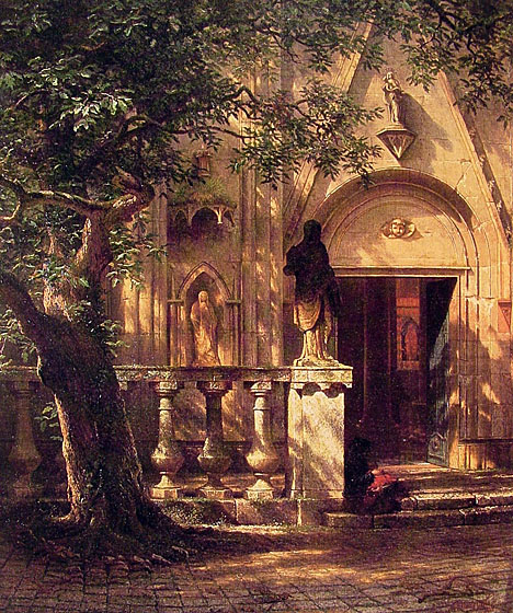 Albert Bierstadt: Sunlight and Shadow, 1862