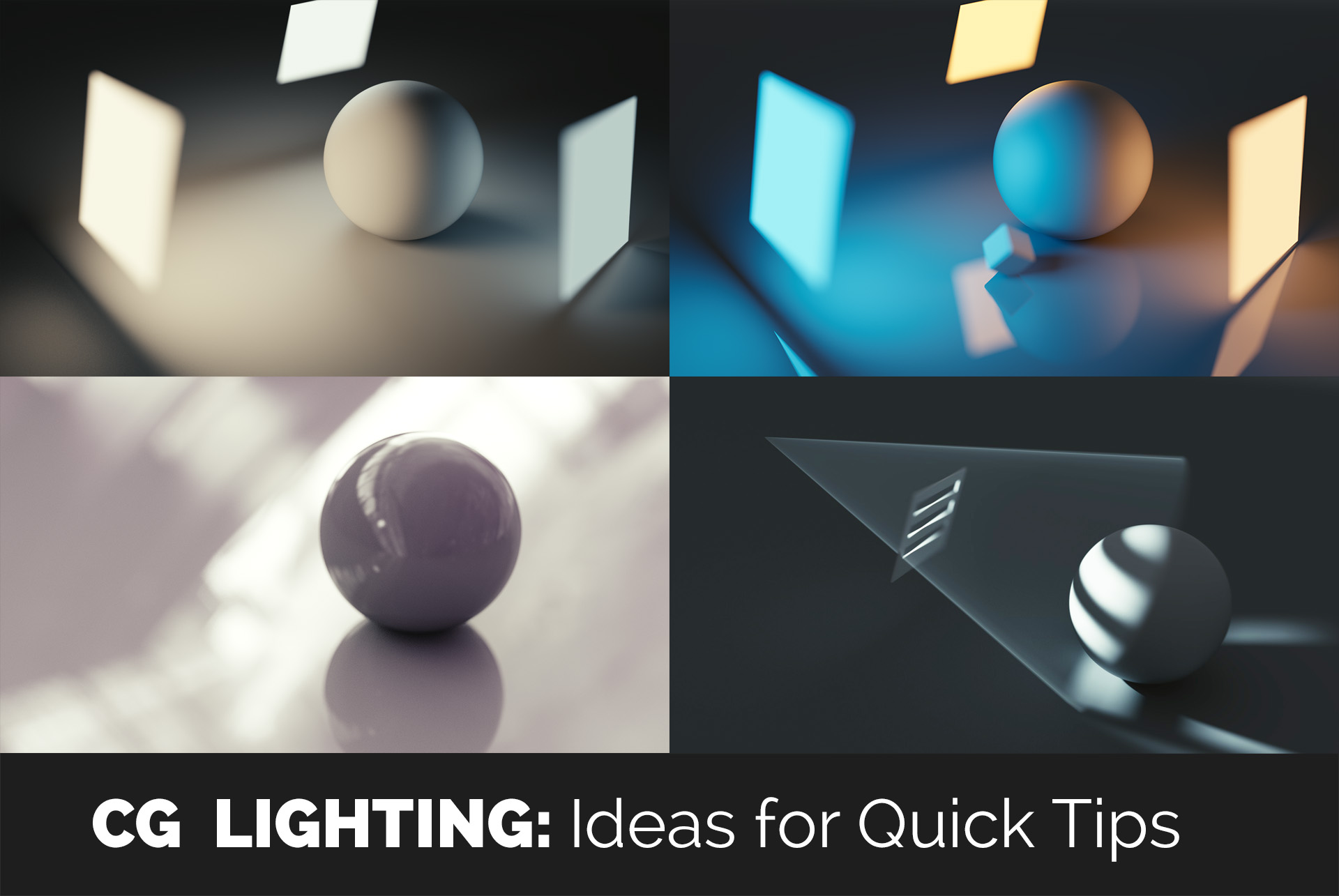 cg_lighting_tutorials & Lighting for Nerds #01: Light Texture or How to Breathe Life into ...