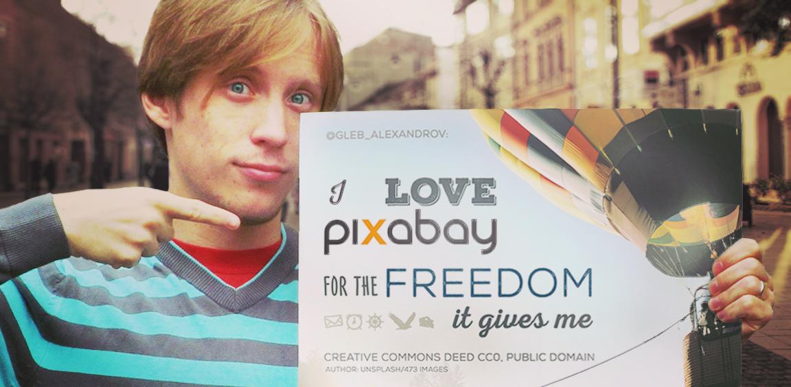 I love Pixabay