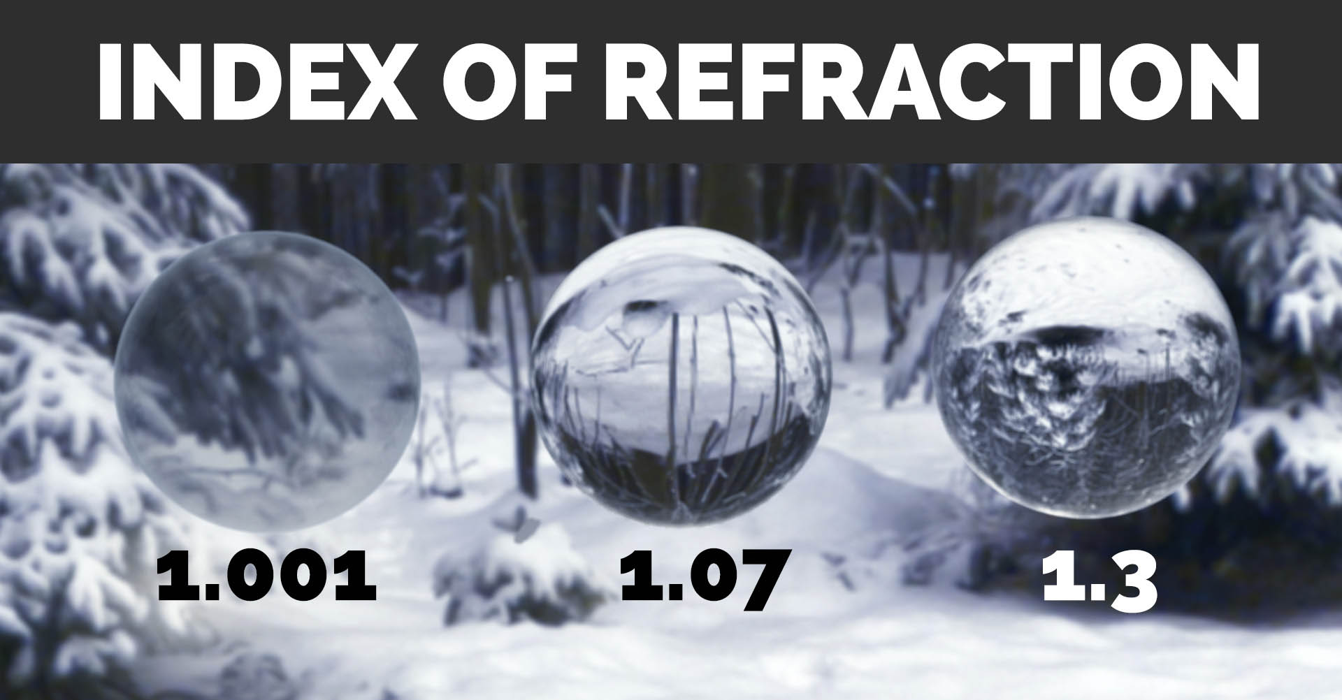 Create Realistic Ice and Awesome Refraction in Blender