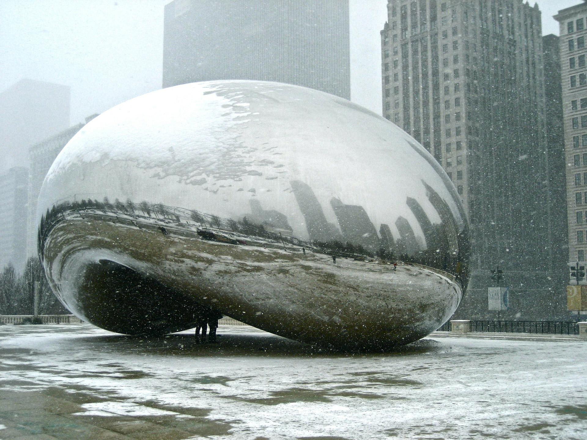 chicago bean reflection