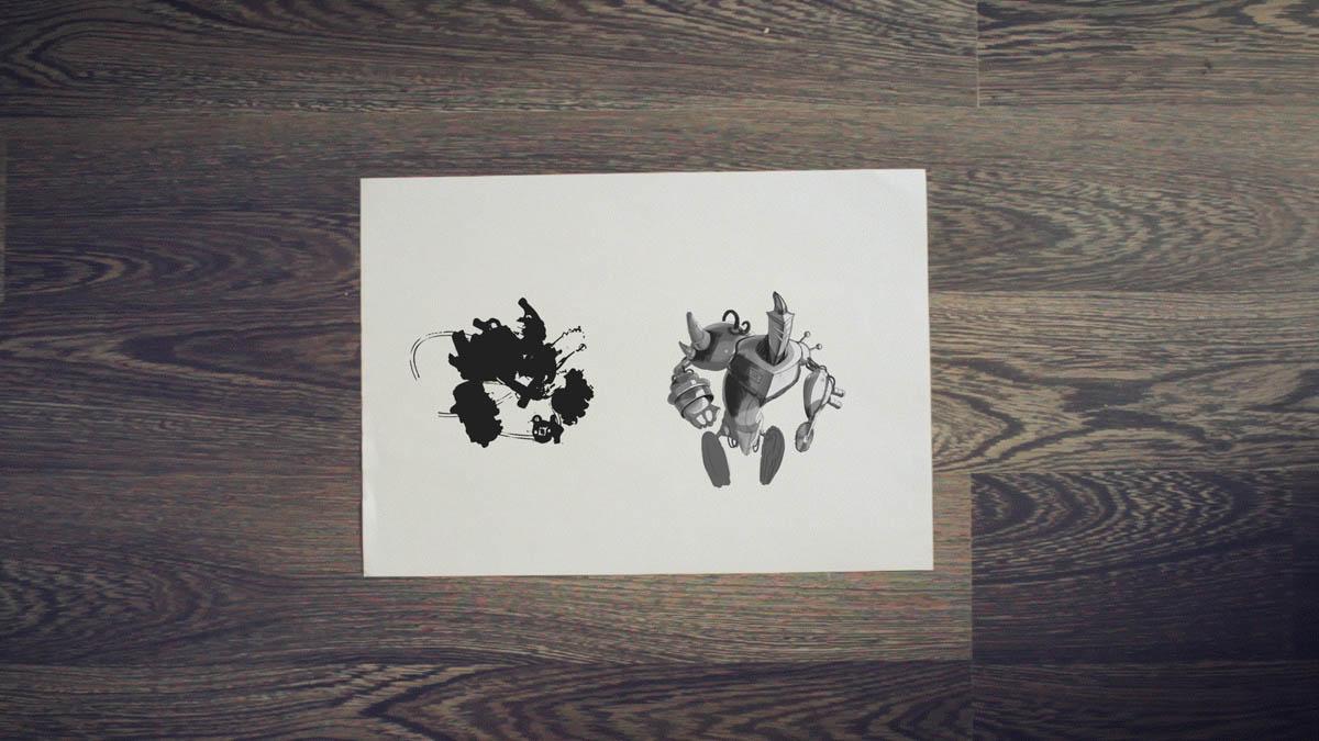 robots concept art tutorial alchemy