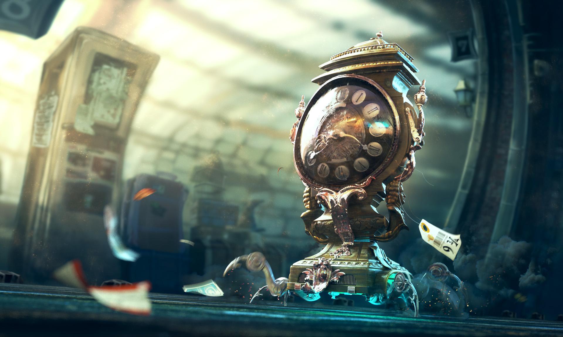 magical clock blender