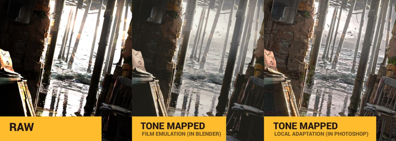 tone mapping in blender