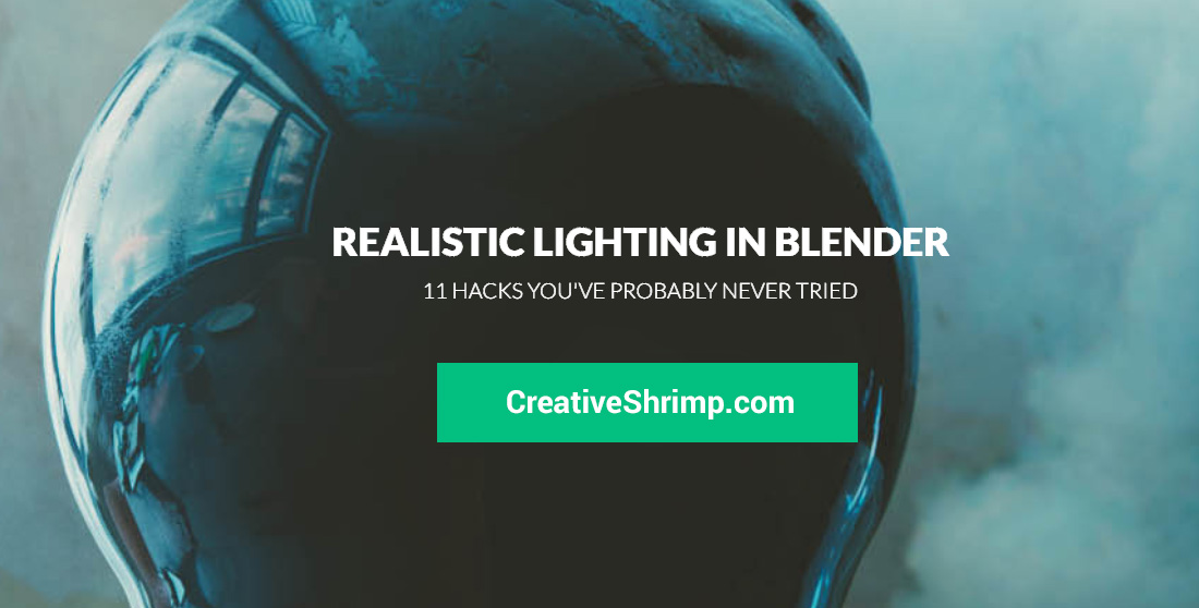 realistic lighting in blender