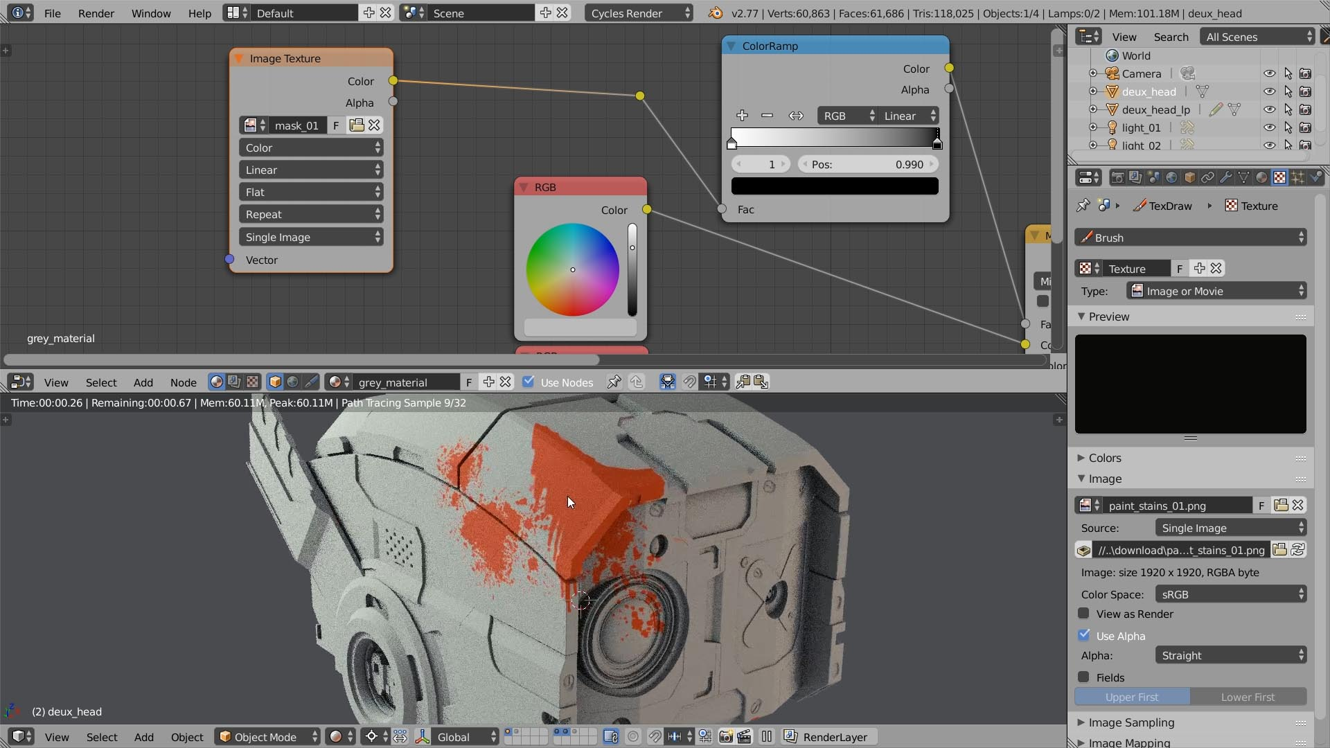 Texturing for beginners top 14 ways to mix textures and shaders paint textures baditri Image collections
