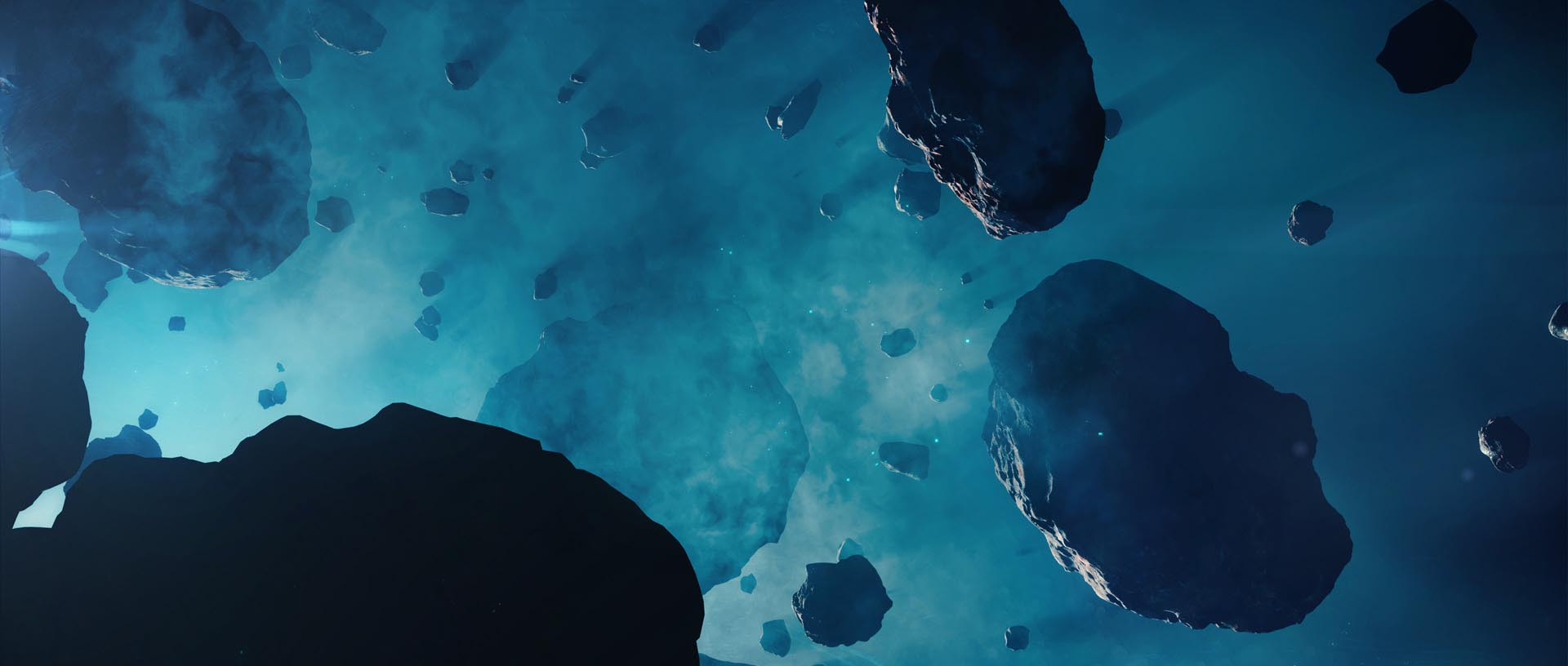 asteroids tutorial blender
