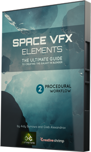 space vfx elements procedural