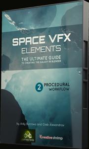 space vfx elements procedural