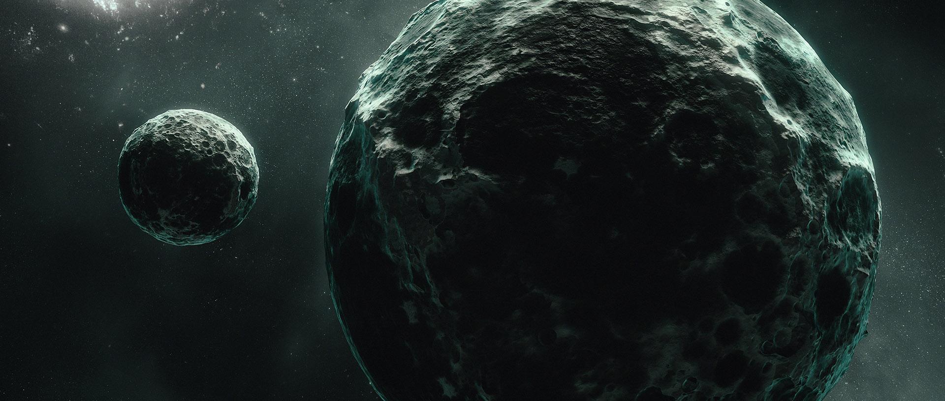 moon planet in blender