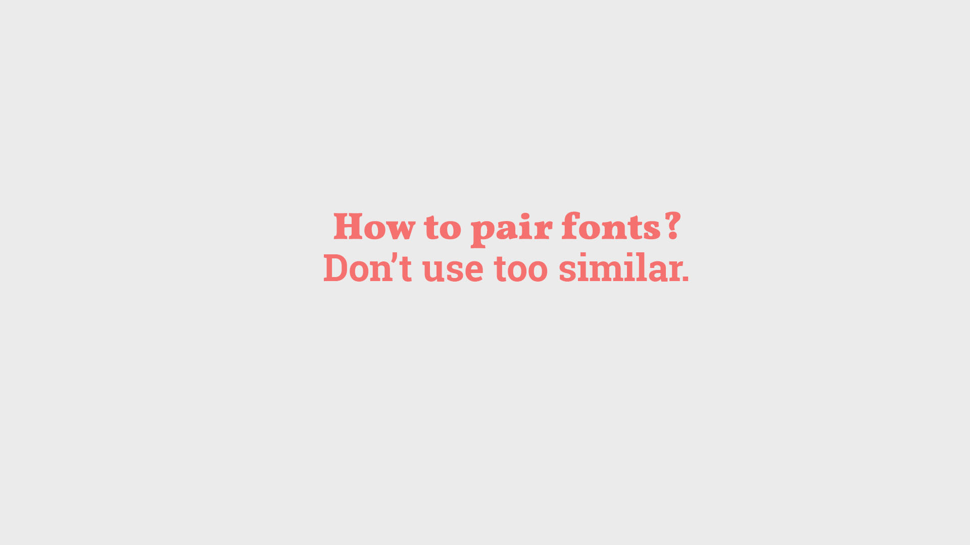 how to combine fonts