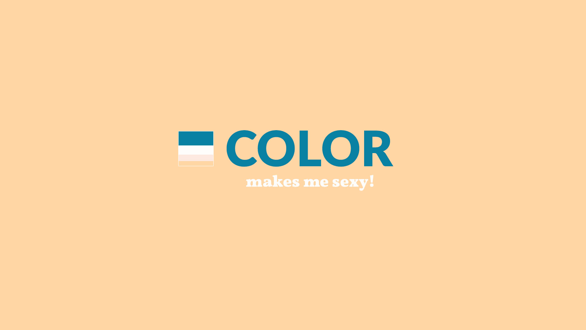 color harmony typography