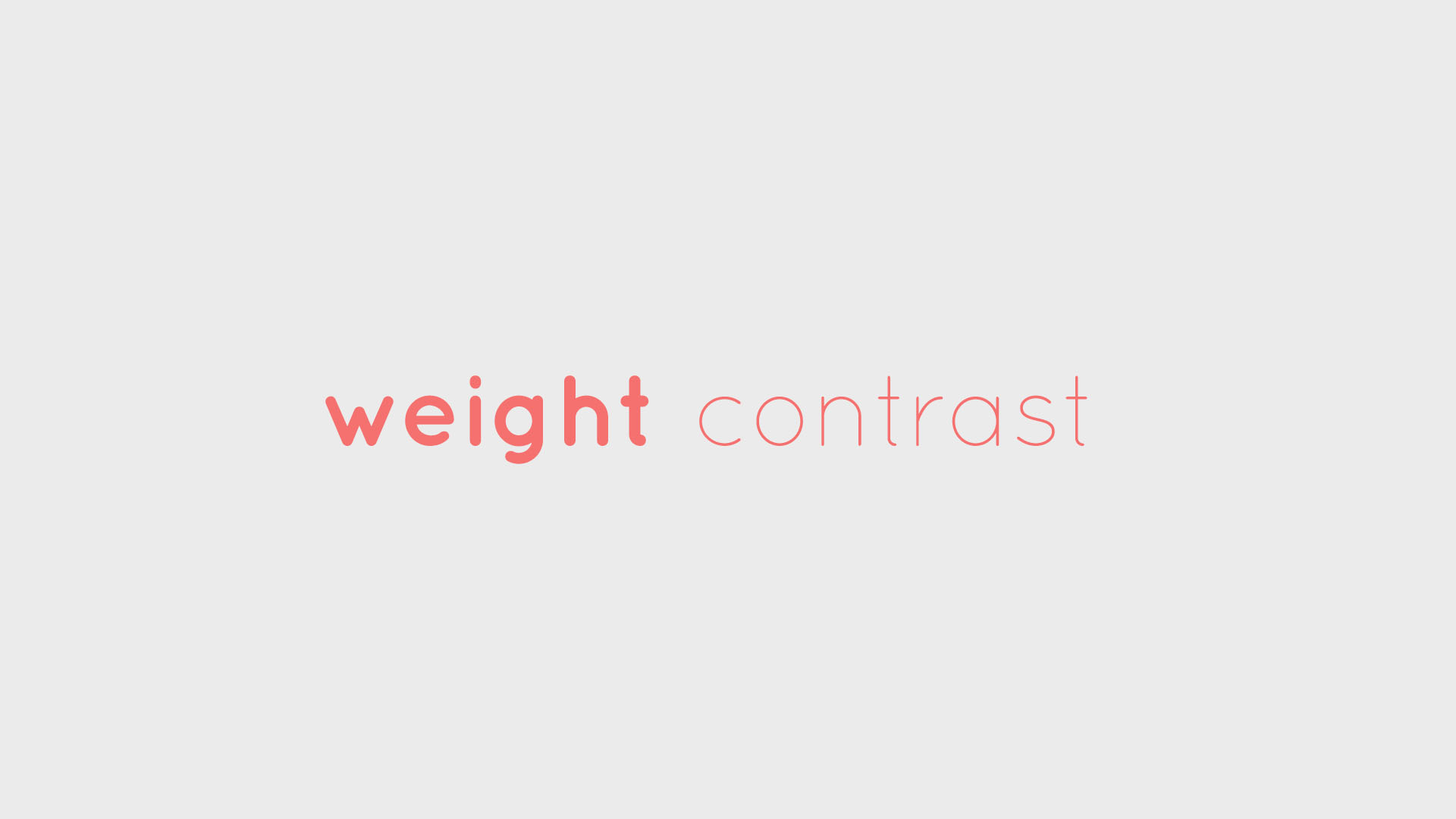 typography tips font weight