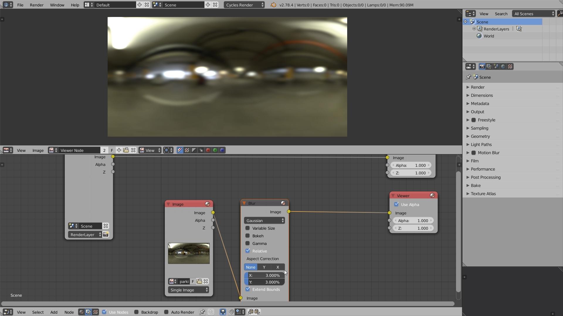 HDR Lighting Workflow for Blender: Look Development (5/7