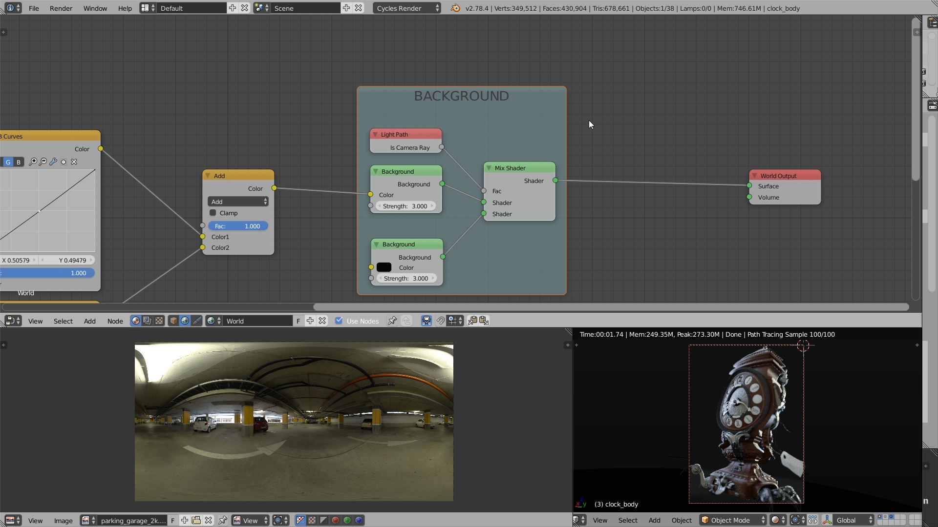 HDR Lighting Workflow for Blender: Look Development (5/7
