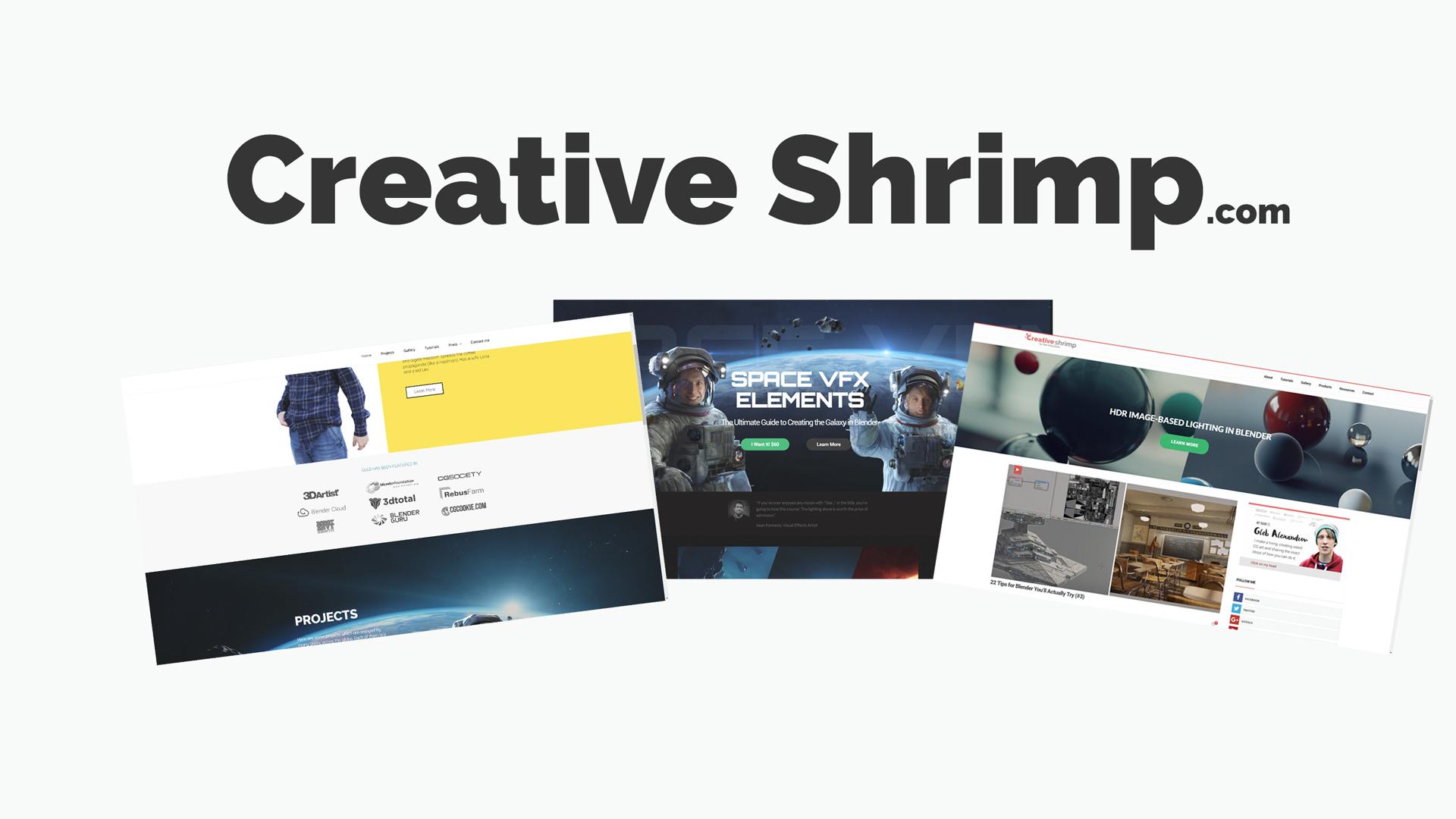 creative shrimp