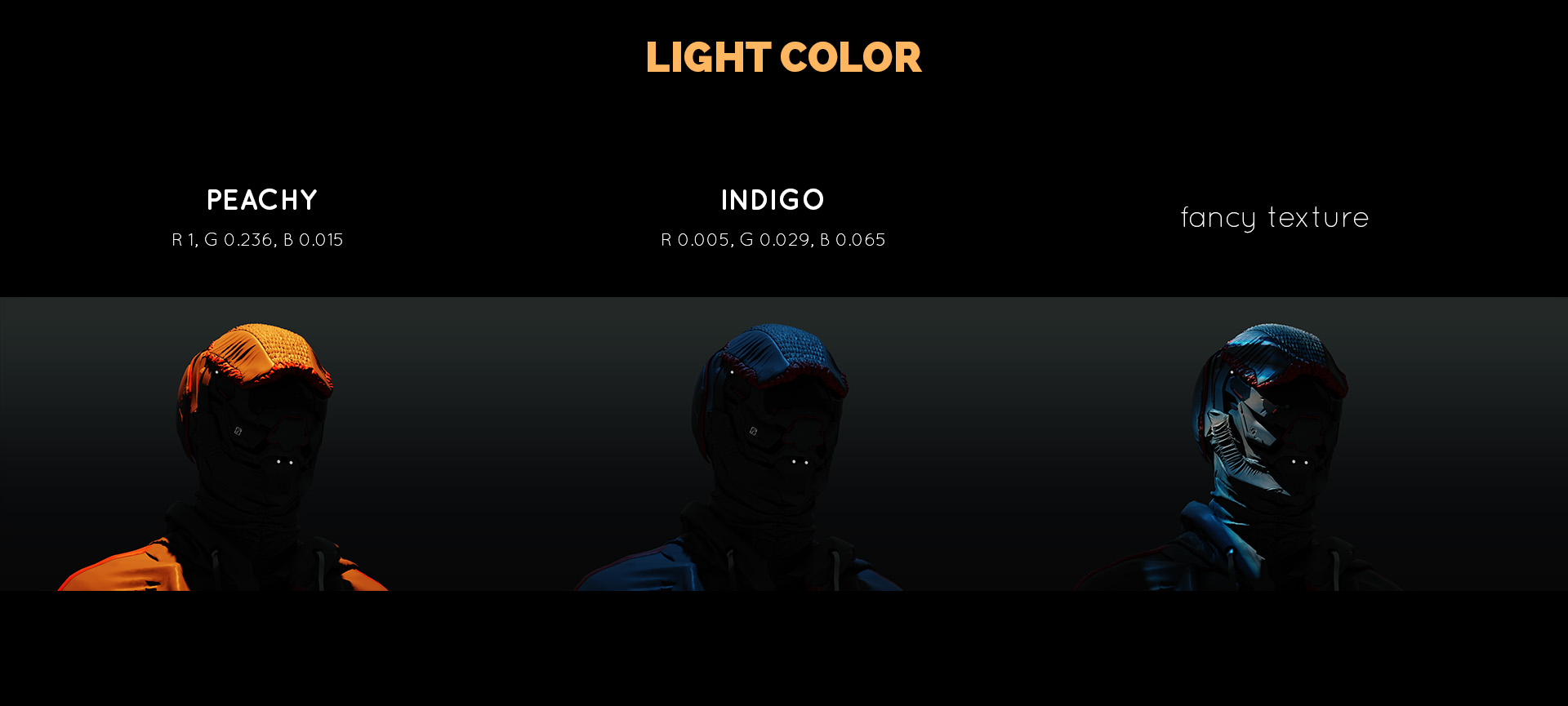 light color - lighting tutorial