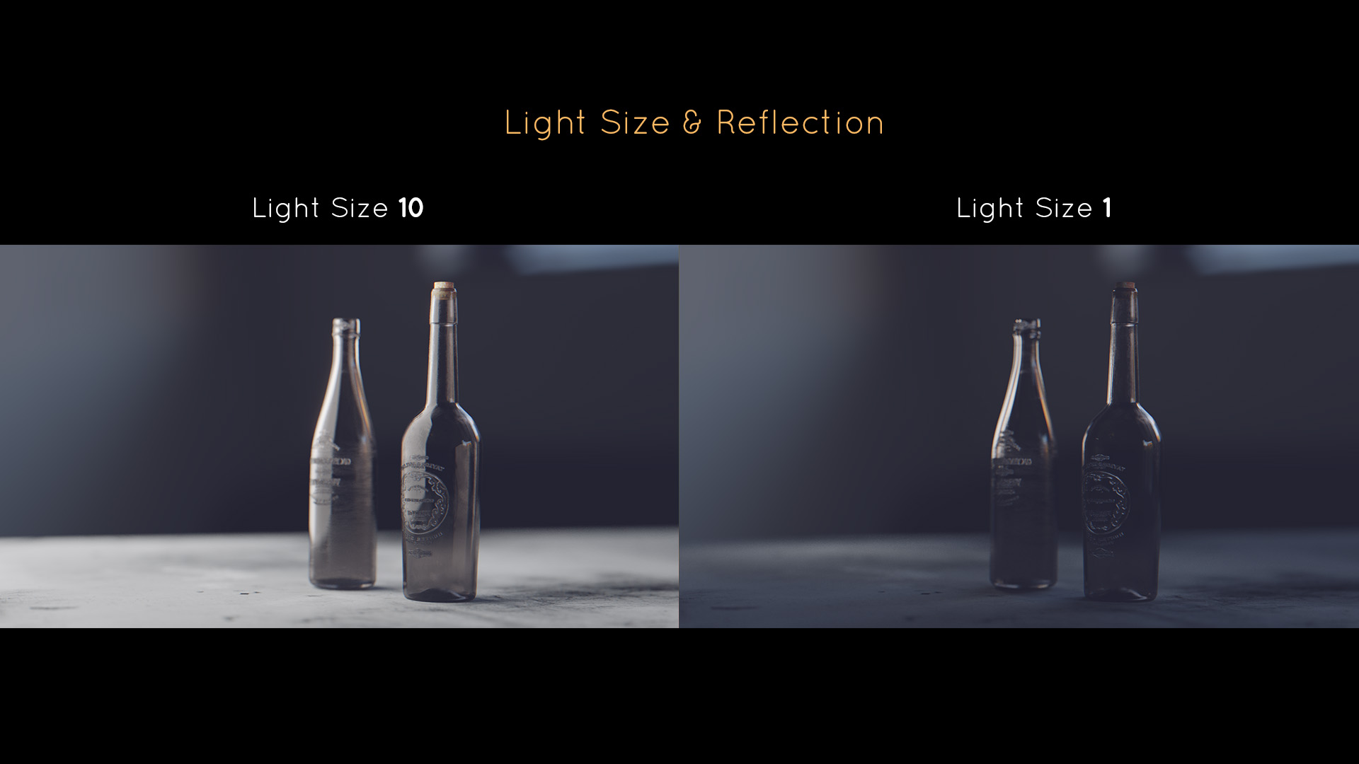 lighting tutorial reflections