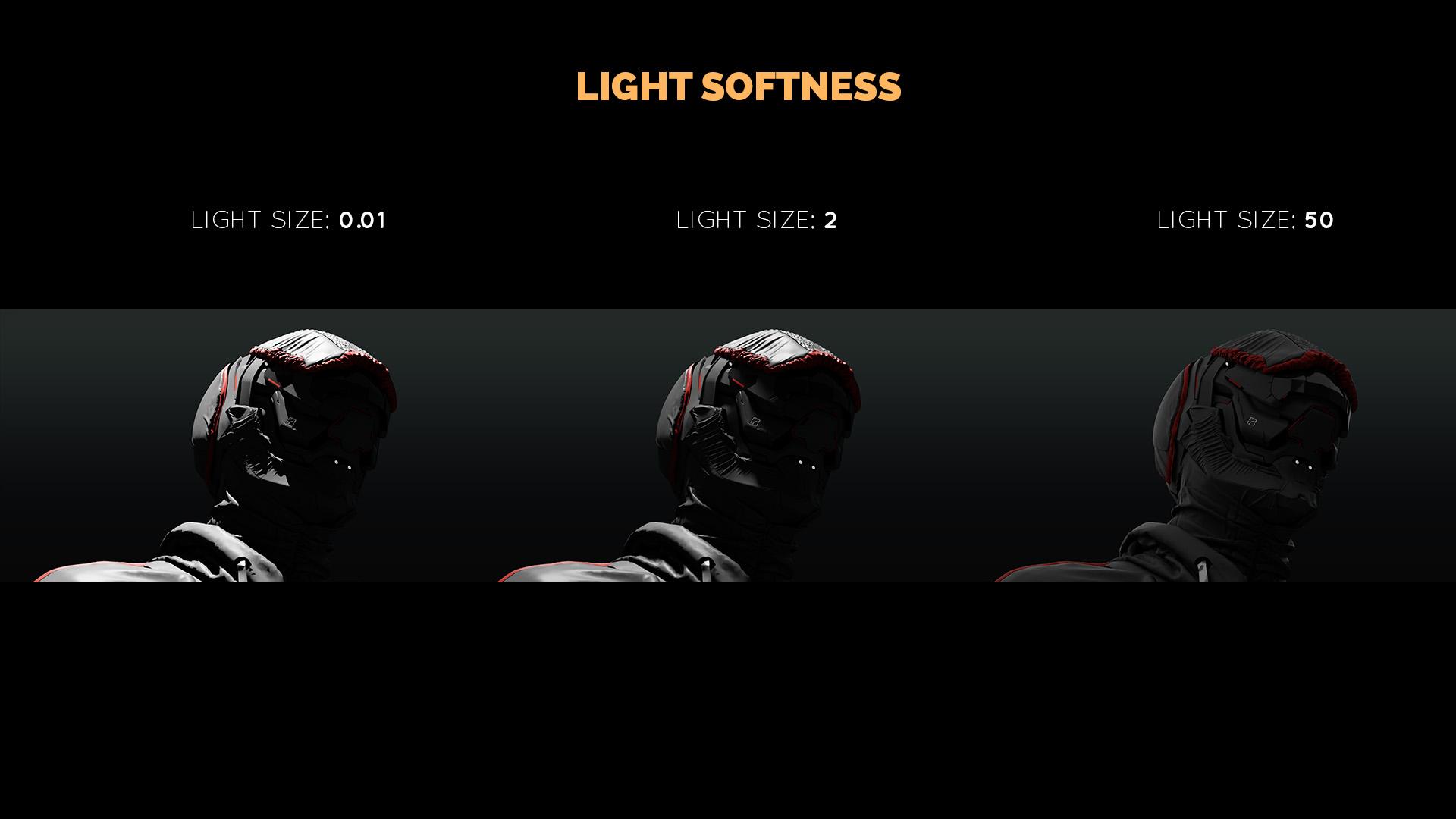 lighting tutorial softness