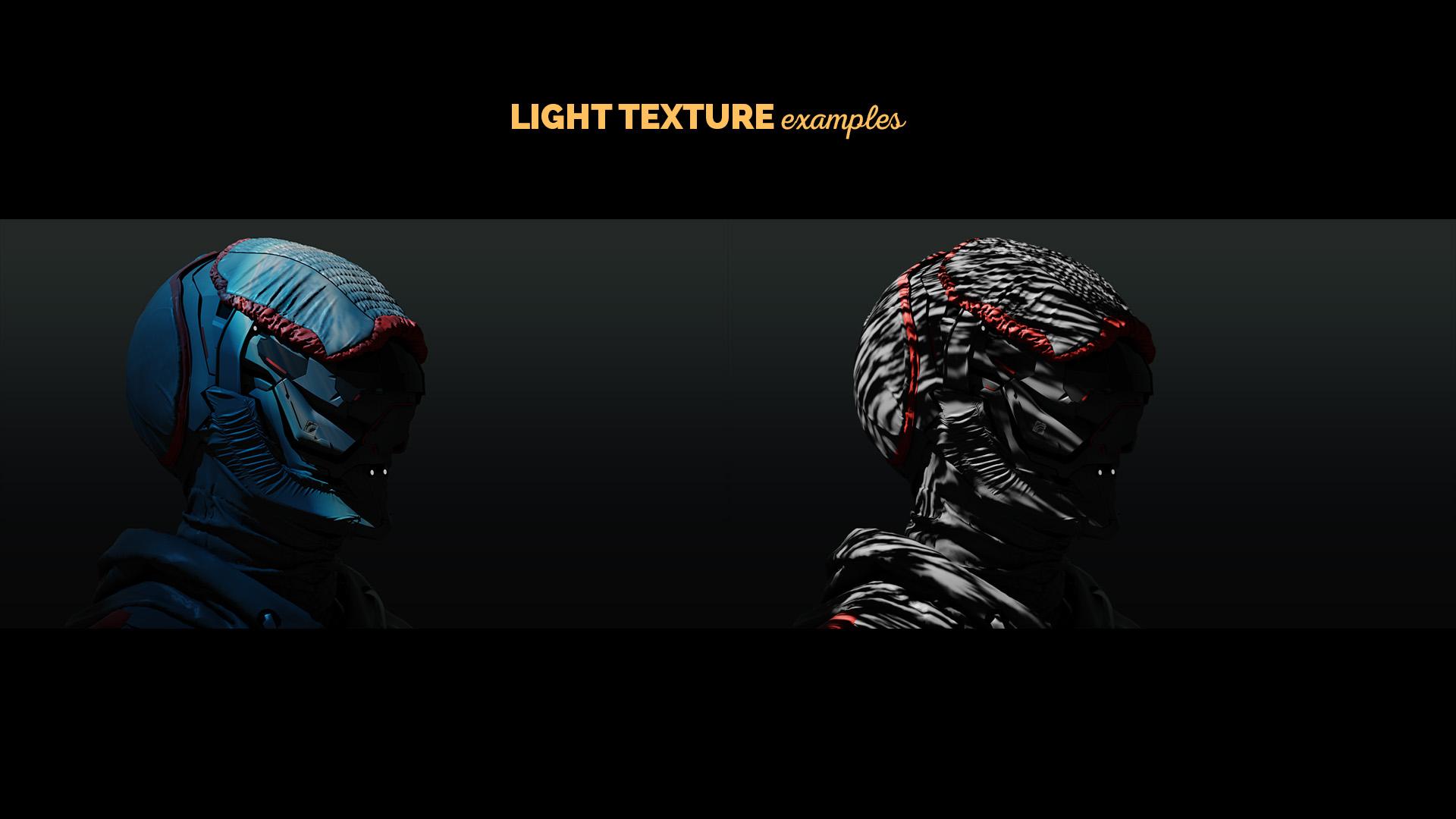 light texture in blender