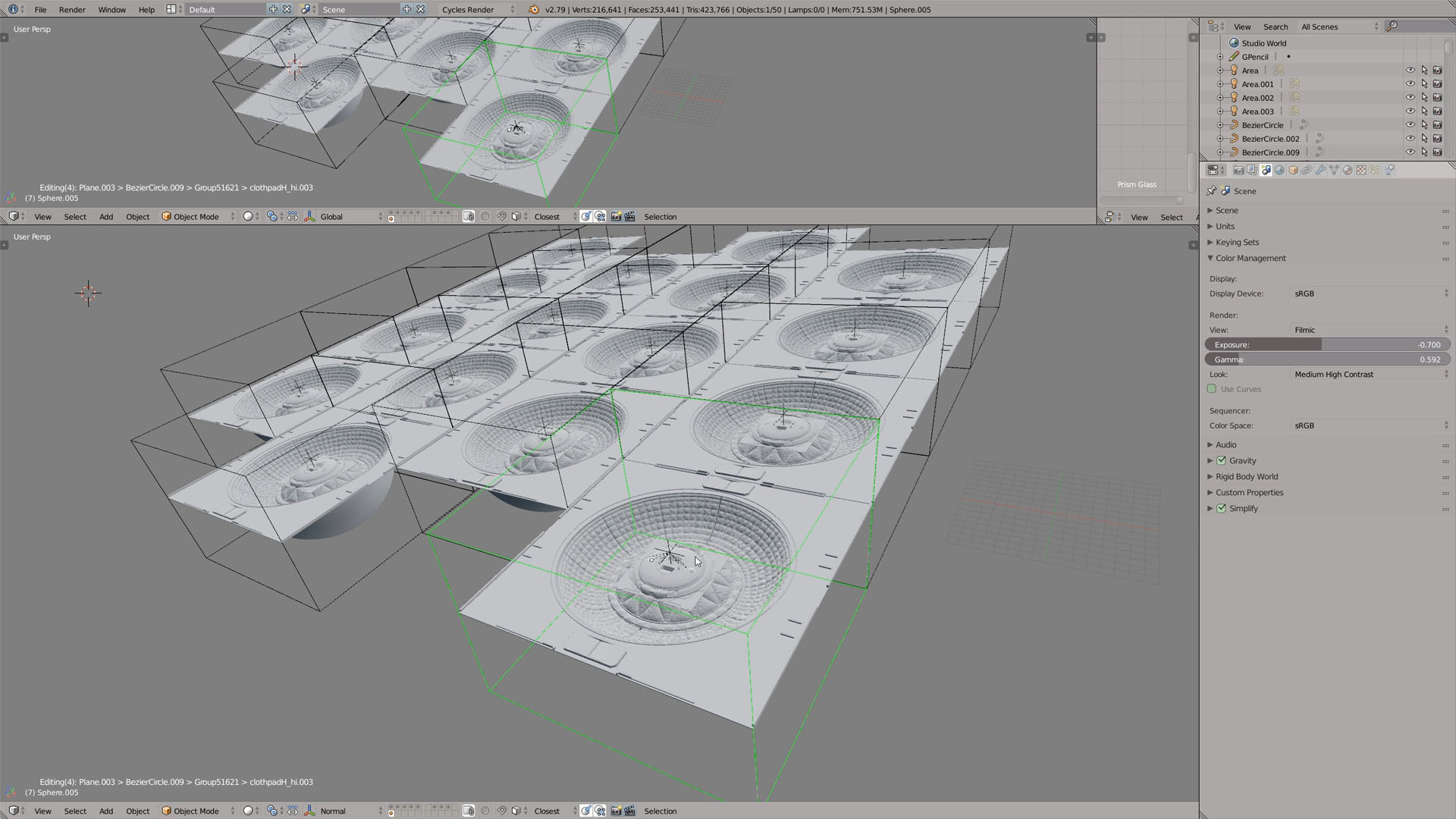 group pro addon blender