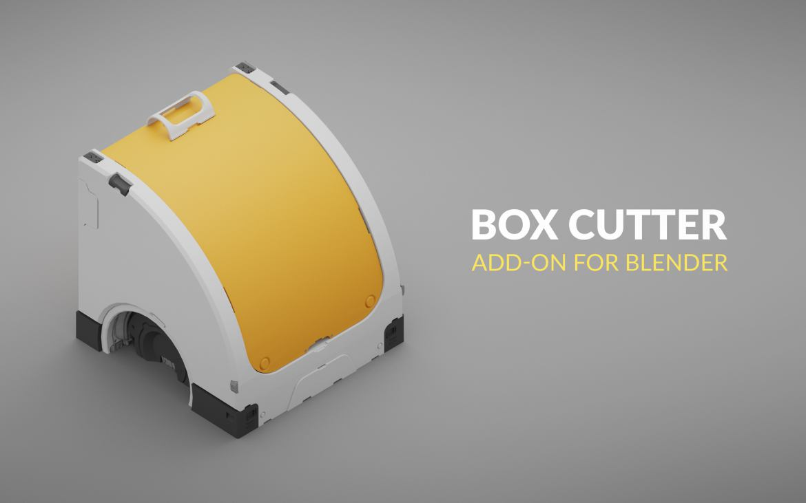 box cutter add-on blender