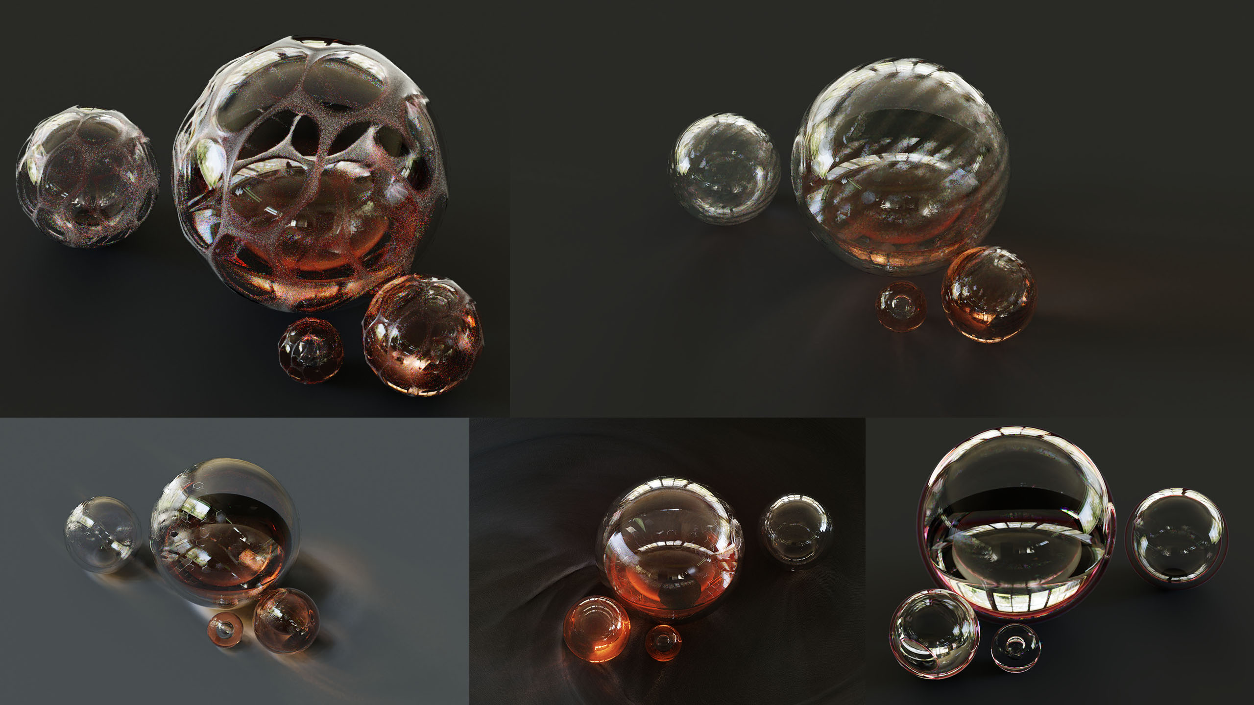glass shader in blender